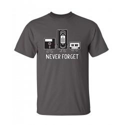 忘不了 Retro 設計 T-shirt